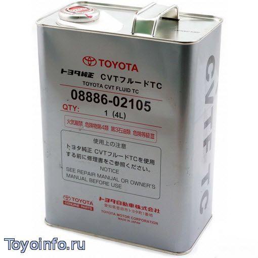 Что лить в акпп Тойота