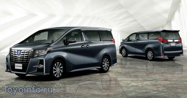 Точки подключения на Toyota Alphard