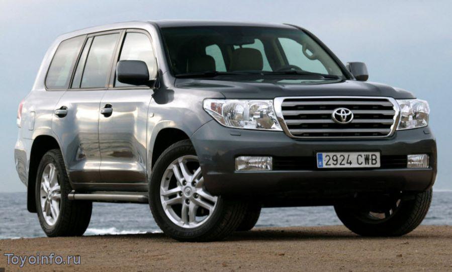 Toyota Land Cruiser 200 неисправности