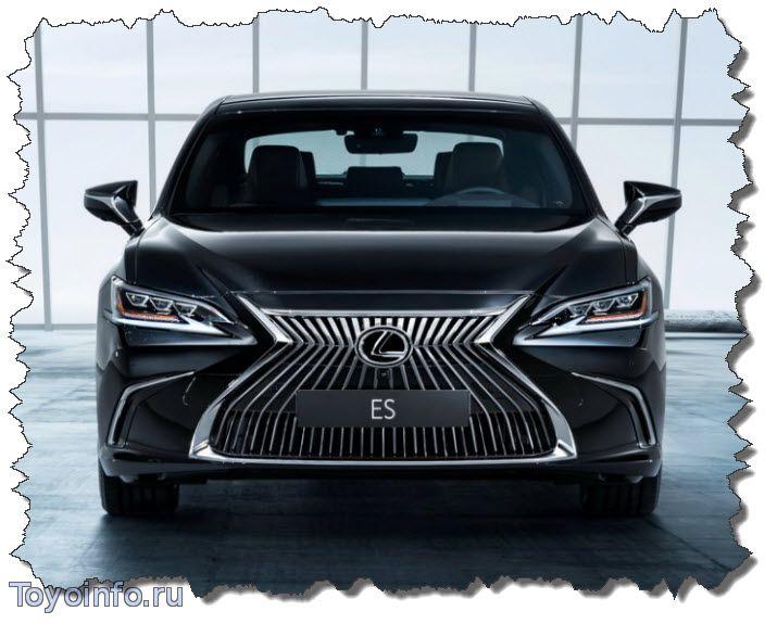 Lexus ES автозапуск