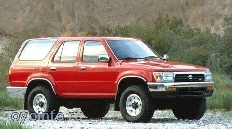 Toyota 4Runner эксплуатация