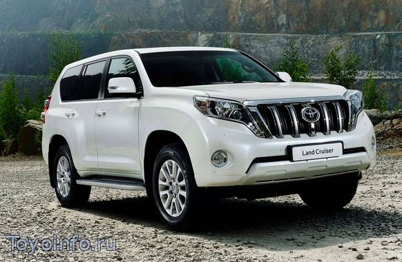 Обзор Нового Toyota Land Cruiser Prado