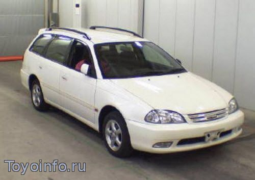 Точки подключения автосигнализации на Toyota Caldina