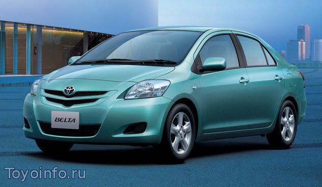Точки подключения Toyota Belta