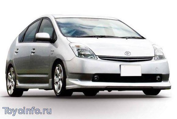 Точки подключения  Toyota Prius 20