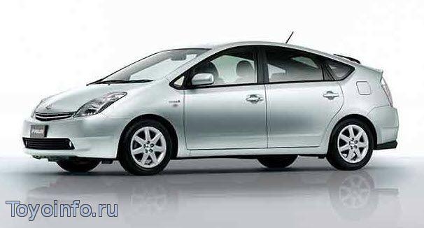 Toyota Prius NHW20 рестайлинг
