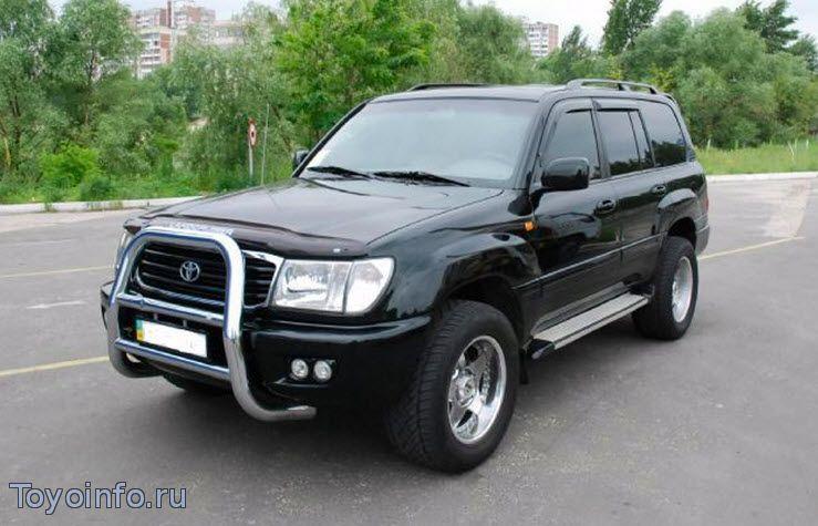 Toyota Land Cruiser установка сигнализации