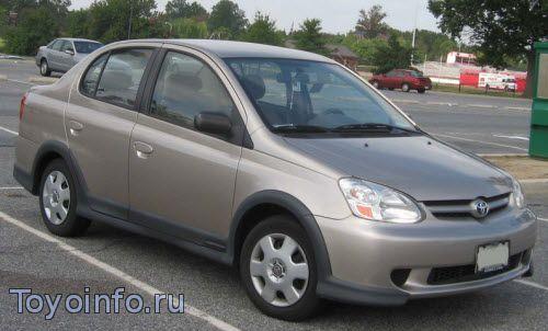 Точки подключения Toyota Echo