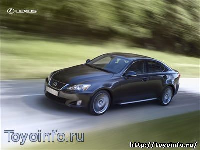 Характеристики Lexus IS 250 2012