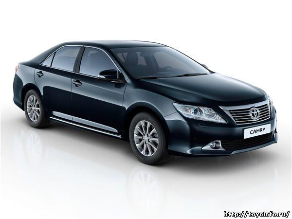 Характеристики Toyota Camry 2012 New