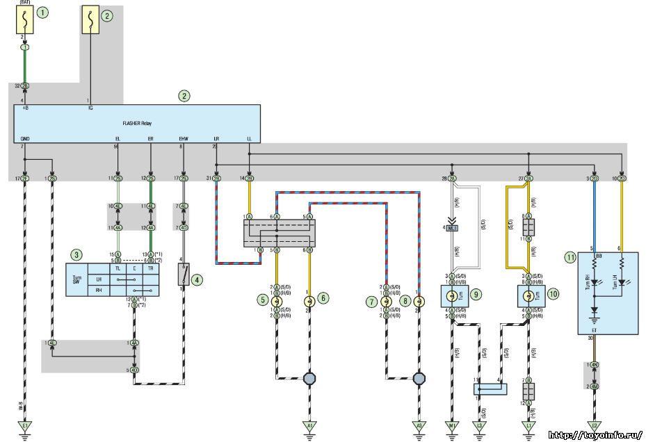 Схема на кислородный датчик.