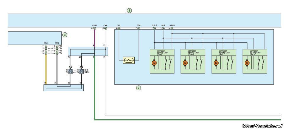 Система кондиционирования с автоматическим управлением Тойота королла