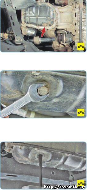 Система смазки Тойота Королла, особенности конструкции, замена масла в двигателе