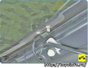 Обогрев заднего стекла Тойота Королла, ремонт