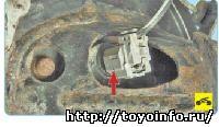 Датчик частоты вращения заднего колеса Тойота Королла