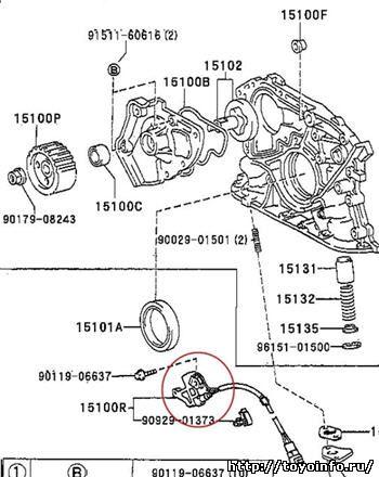 Скачать инструкцию по переборке двигателя 3S-FE
