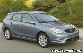 руководство по ремонту Toyota Corolla Matrix