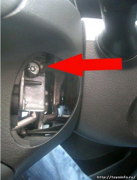 установки круиз-контроля на Toyota Camry кузов V40