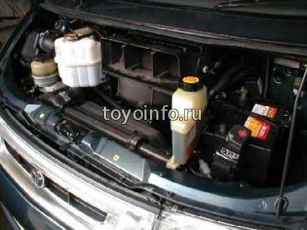 двигатель 3C на Toyota Estima Emina .