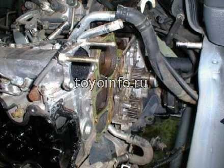 двигатель типа 3С на Toyota Estima Emina