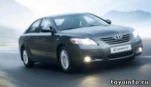 ��������� ������������ Toyota Camry, ����� �����������