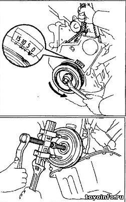 5s-fe замена ремня грм