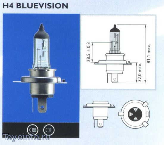 Лампа Н4