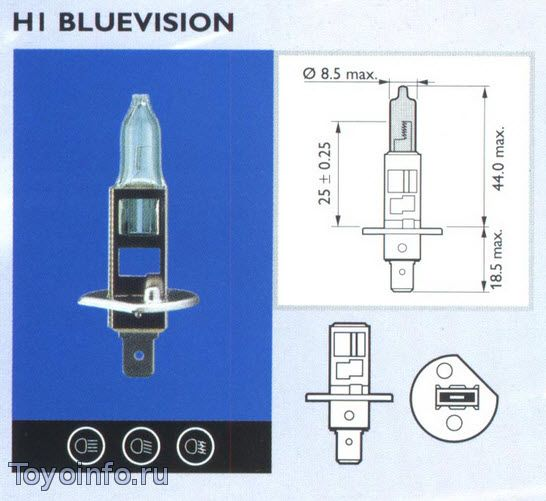 Лампа Н1