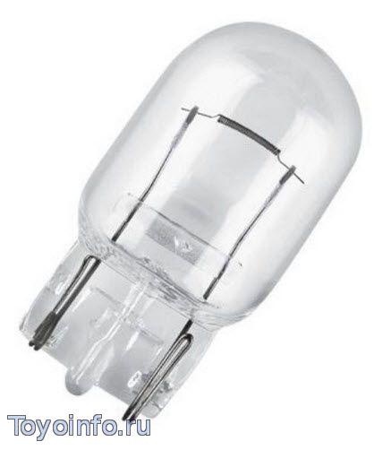 Лампа W21W