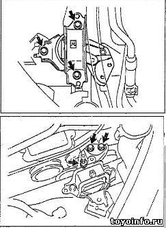 Замена ремня ГРМ Тойота Двигатель 1SZ-FE