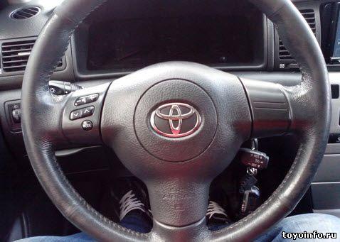 установка круиз контроля Тойота Королла