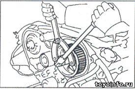 Ремень привода ГРМ 5VZ-FE