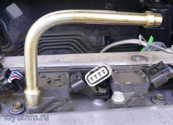 Замена свечей на toyota Corolla кузов 120